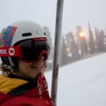 Saturday may have been cloudy, but it was my FIRST SKI DAY OF THE SEASON! C. Jussi Ovaskainen